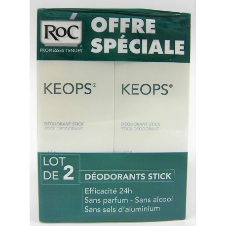 Roc - Keops - Déodorants Stick (lot de 2)