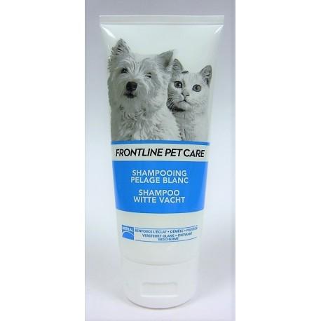 FRONTLINE - PET CARE Shampooing Pelage blanc Chien et Chat