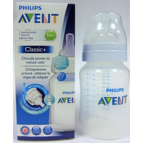 AVENT - Biberon Classic+ 1m+ (260 ml)