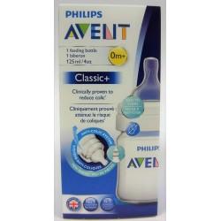 AVENT - Biberon Classic+ 0m+ (125 ml)