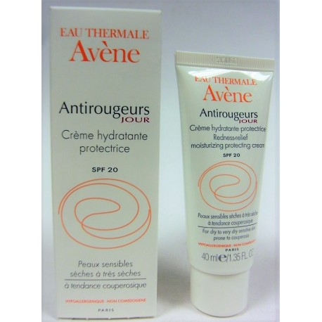 Avène - Crème hydratante protectrice Antirougeurs Jour
