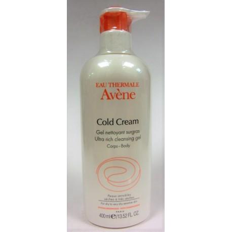Avène - Cold Cream Gel nettoyant surgras (400 ml)