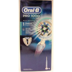 Oral-B - Pro 1000 Retire 100% de plaque en plus
