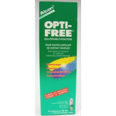 OPTI-FREE Express Solution Multi-Fonctions de Décontamination