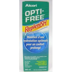 OPTI-FREE - RepleniSH Maintien d'une hydratation optimale pour un confort prolongé