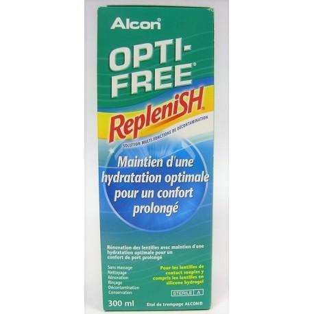 OPTI-FREE - RepleniSH Maintien d'une hydratation optimale pour un confort prolongé