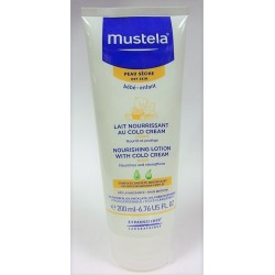 Mustela - Lait nourrissant au Cold Cream (200 ml)