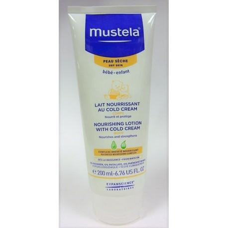Mustela - Lait nourrissant au Cold Cream (200 ml)