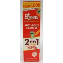 Elimax - Shampooing Anti-Poux & Lentes 2 en 1 élimine et protège