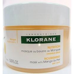 Klorane - Masque Réparateur Nutrition Intense au beurre de Mangue (150 ml)