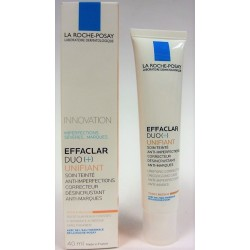 La Roche-Posay - EFFACLAR DUO (+) UNIFIANT Soin teinté anti-imperfections Teinte medium (40 ml)