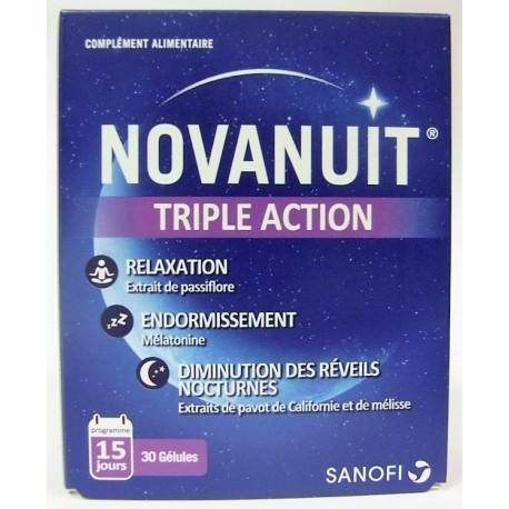 Novanuit - Triple Action (30 gélules)