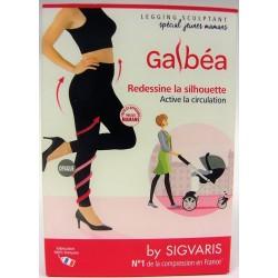 SIGVARIS - Galbéa Legging sculptant Spécial Jeunes mamans (T1N) Noir