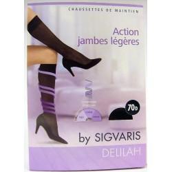 SIGVARIS - DELILAH Chaussettes de maintien (T1) Noir