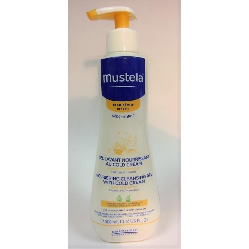 mustela gel lavant nourrissant au cold cream peau s che 300 ml. Black Bedroom Furniture Sets. Home Design Ideas