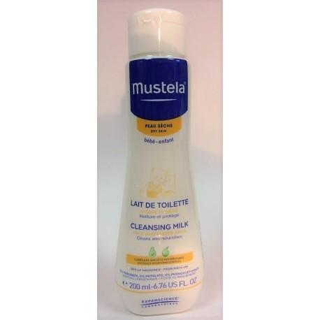 Mustela - Lait de toilette Peau sèche (200 ml)