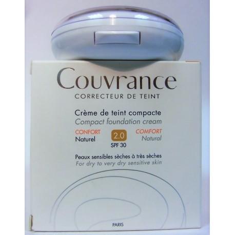 Avène - Couvrance Crème de teint compacte Confort . Naturel SPF 30
