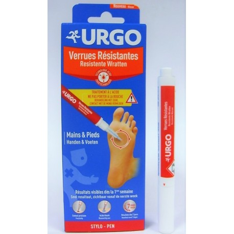 Urgo - Verrues Résistantes Mains & Pieds