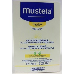 Mustela - Savon Surgras au Cold Cream nutri-protecteur (150 g)