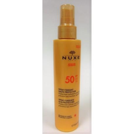 Nuxe Sun - Spray Fondant Haute protection SPF 50