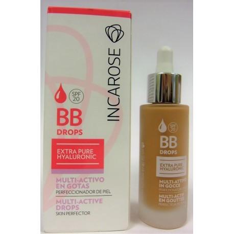 IncaRose - BB Drops Multi-Actif en gouttes Perfecteur de peau (Medium)