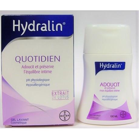 Hydralin - Quotidien Adoucit et préserve l'équilibre intime (100 ml)
