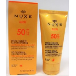 Nuxe Sun - Crème fondante Visage SPF 50