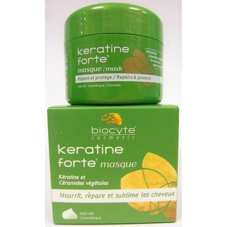 Biocyte - Keratine forte Masque Nourrit, répare et sublime les cheveux