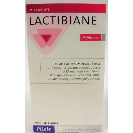 Pileje - Lactibiane Probiotiques . Référence (30 gélules)