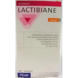 Pileje - Lactibiane Probiotiques . Voyage (14 gélules)