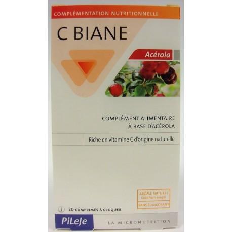Pileje - C Biane Acerola (20 comprimés)