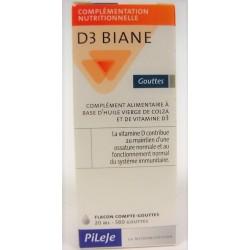 Pileje - D3 Biane Gouttes