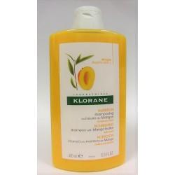 Klorane - Shampooing au Beurre de mangue Nutrition Cheveux secs (400 ml)