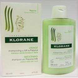 Klorane - Shampooing au lait de Papyrus . Lissage (200 ml)