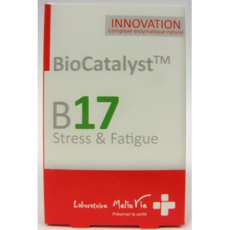 Melio Vie - BioCatalyst B17 Stress & Fatigue (30 gélules)