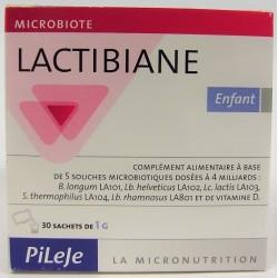 Pileje - Lactibiane Probiotiques . Enfant (30 sachets)