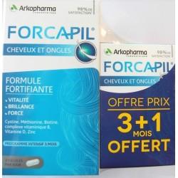 Forcapil - Cheveux & ongles Force Vitalité Brillance