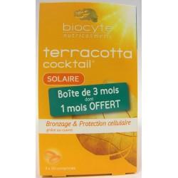 Biocyte - terracotta cocktail SOLAIRE Bronzage & Protection cellulaire (lot de 3)
