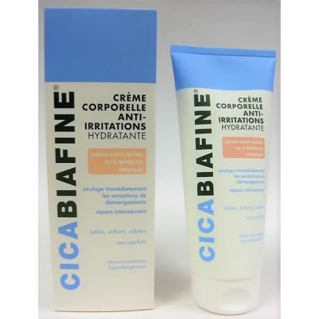 Cicabiafine - Crème corporelle anti-irritations hydratante (200 ml)