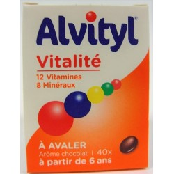 Alvityl - Vitalité 12 Vitamines  8 Minéraux