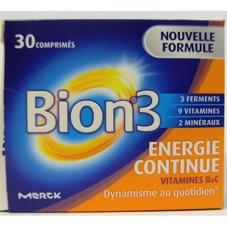 Bion - Bion 3 Energie continue (30 comprimés)