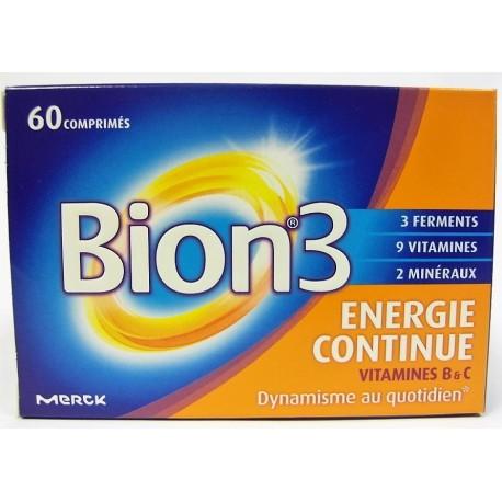 Bion - Bion 3 Energie continue (60 comprimés)