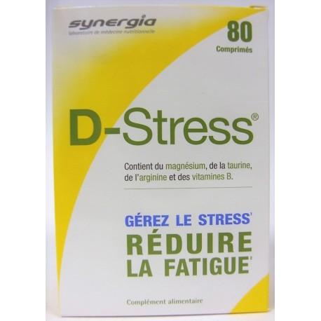D.Stress - Gérer le stress . Réduire la fatigue