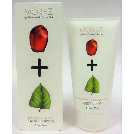 Moraz - Gommage corporel Grenade & Polygonum (150 ml)