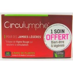 Santé verte - Circulymphe Pour des jambes légères (60 comprimés)