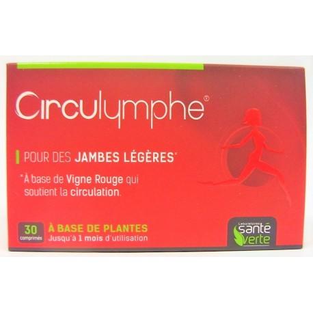 Santé verte - Circulymphe Pour des jambes légères (comprimés)