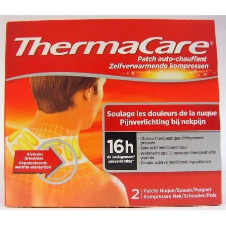 ThermaCare - Patch auto-chauffant Soulage les douleurs de la nuque, épaule et poignet (2 patchs)