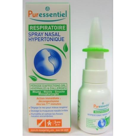 Puressentiel - Respiratoire Spray nasal hypertonique