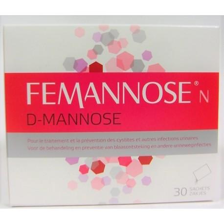 FEMANNOSE - Prévention des cystites et infections urinaires (30 sachets)