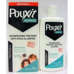 Pouxit - Shampooing traitant Anti-poux & Lentes 15 mn (200 ml)